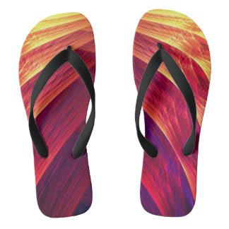 electro wave unisex flip flop