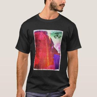 ElectroCelt Trisquel by AlyZen Moonshadow T-Shirt