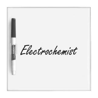 Electrochemist Artistic Job Design Dry-Erase Whiteboard