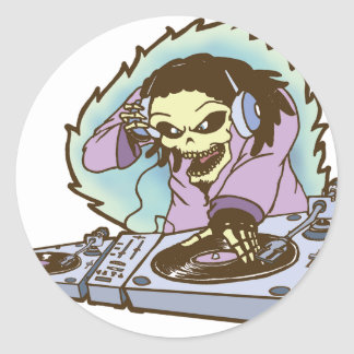 electrokution-2.png classic round sticker