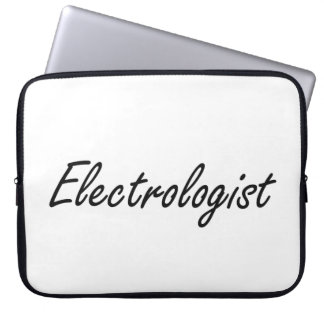 Electrologist Artistic Job Design Laptop Computer Sleeve