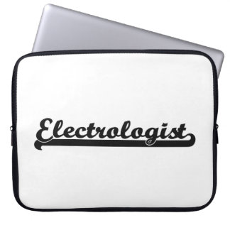 Electrologist Classic Job Design Laptop Computer Sleeve