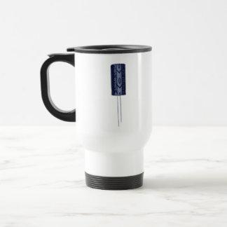 Electrolytic capacitor 15 oz stainless steel travel mug