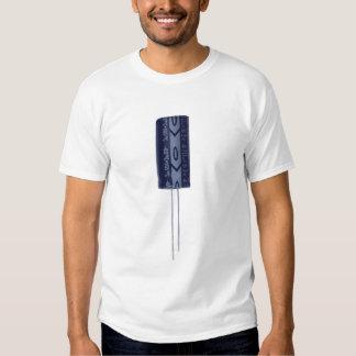 Electrolytic capacitor tee shirt