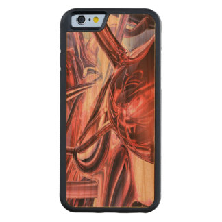 Electromagnetic Abstract Carved® Cherry iPhone 6 Bumper Case