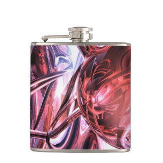 Electromagnetic Abstract Hip Flasks