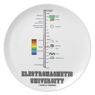 Electromagnetic University (Electromag. Spectrum) Plates