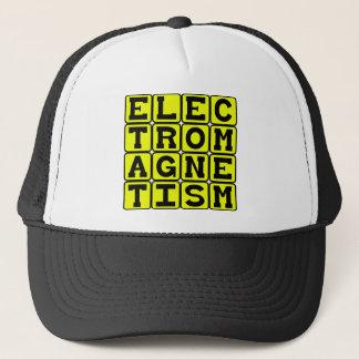 Electromagnetism, Physics Branch Trucker Hat