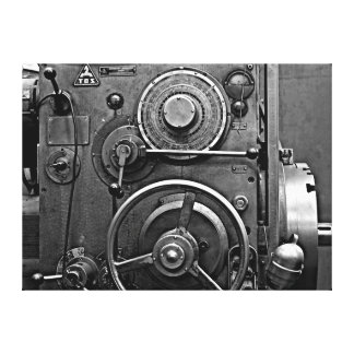 Electromechanical Machine #1 Canvas Print