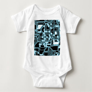 ElecTRON - Blue / Black Baby Bodysuit