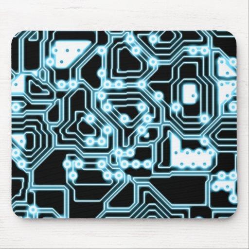 ElecTRON - Blue / Black Mouse Pad