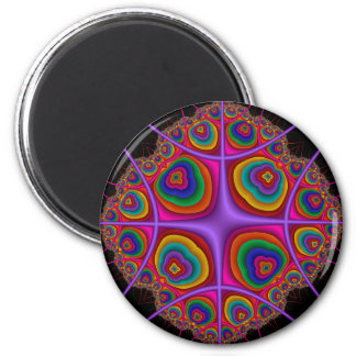 Electron Cloud 2 Inch Round Magnet