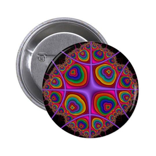 Electron Cloud Pinback Button