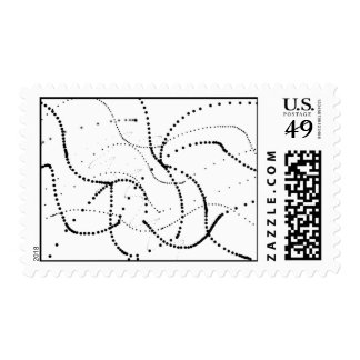 Electron Frenzy Postage Stamp