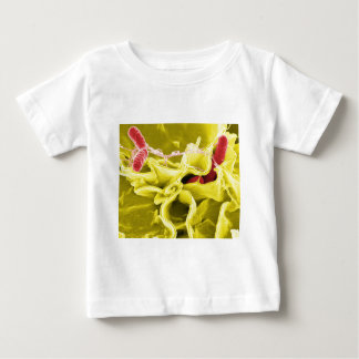 Electron Micrograph Showing Salmonella Typhimurium Baby T-Shirt