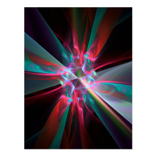 Electron Prism, Beautiful fractal Postcard