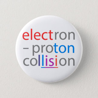 electron-proton pinback button