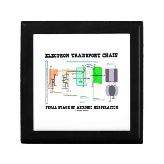 Electron Transport Chain Final Stage Of Aerobic Keepsake Box