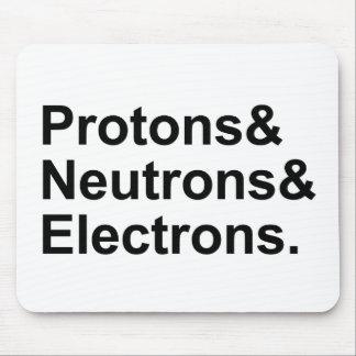 Electrones de los neutrones de los protones el | 3 mouse pads