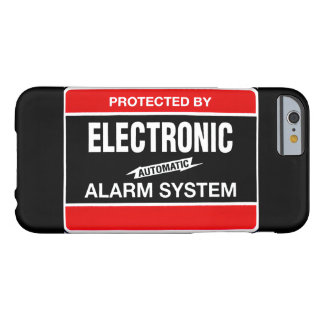 Electronic Alarm System Barely There iPhone 6 Case