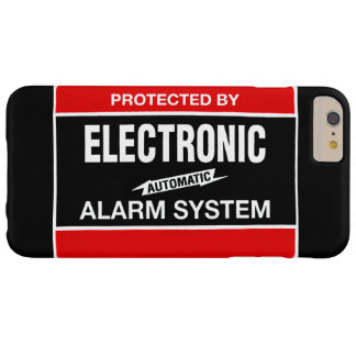 Electronic Alarm System Barely There iPhone 6 Plus Case