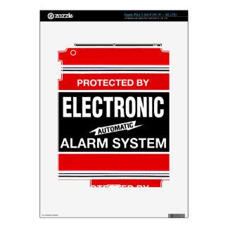 Electronic Alarm System iPad 3 Skin