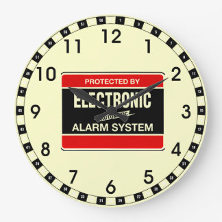 Electronic Alarm System Large Clock
