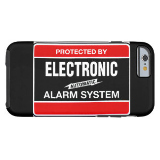 Electronic Alarm System Tough iPhone 6 Case