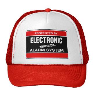 Electronic Alarm System Trucker Hat