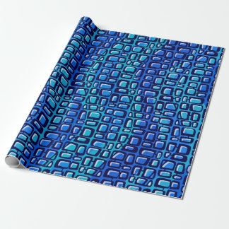 Electronic Aquarium Ocean Wrapping Paper