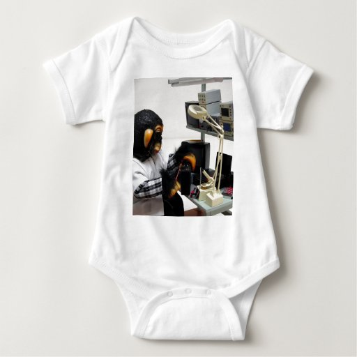 electronic audio technician baby bodysuit