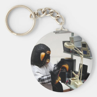 electronic audio technician keychain