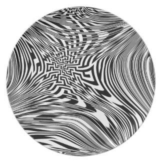 Electronic Bold Melamine Plate