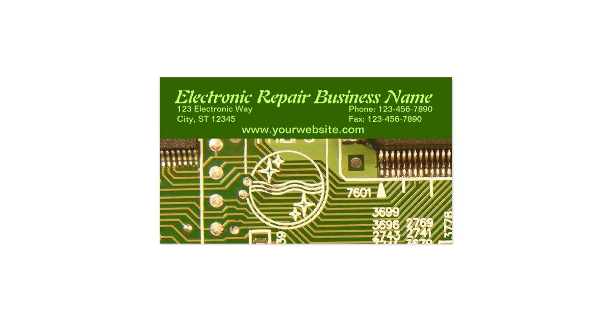 Electronic Business Card  Zazzle