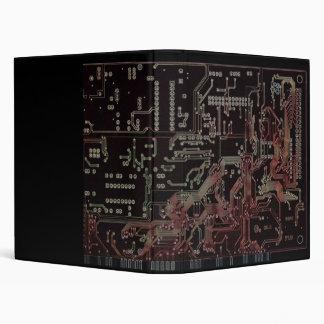 electronic circuit 3 ring binder