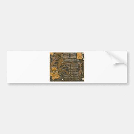 electronic circuit board bumper sticker
