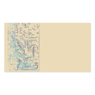 electronic circuit board Double-Sided standard business cards (Pack of 100)