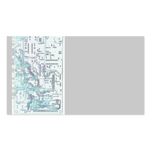 electronic circuit board business card templates