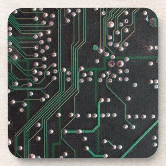 Electronic Circuit Board Drink Coaster