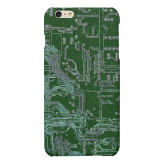electronic circuit board matte iPhone 6 plus case