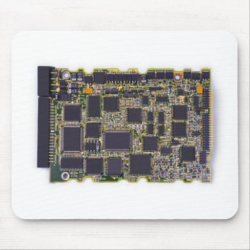 electronic circuit board mousepad
