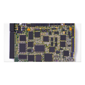 electronic circuit board photo cards