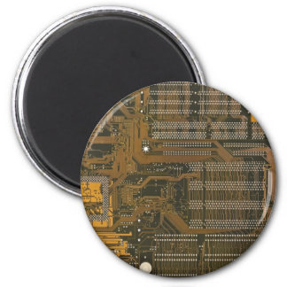 electronic circuit board refrigerator magnets