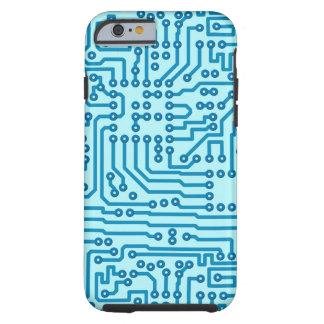 Electronic Circuit Board Tough iPhone 6 Case