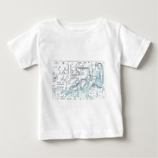 electronic circuit infant t-shirt