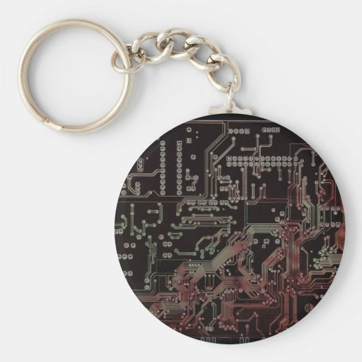 electronic circuit keychains