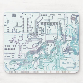 electronic circuit mouse pad