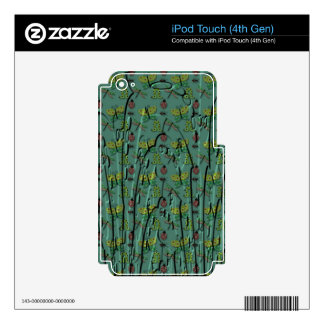 Electronic Coats iPod Touch 4G Decal