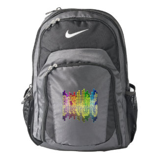 Electronic Dance Music Backpack-Bass Down Low Nike Backpack