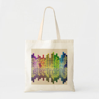 Electronic Dance Music Tote-Bass Down Low Tote Bag